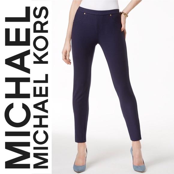 ebd7dccbd5a0e MICHAEL Michael Kors Pants   Michael Kors Stretch Twill Leggings ...